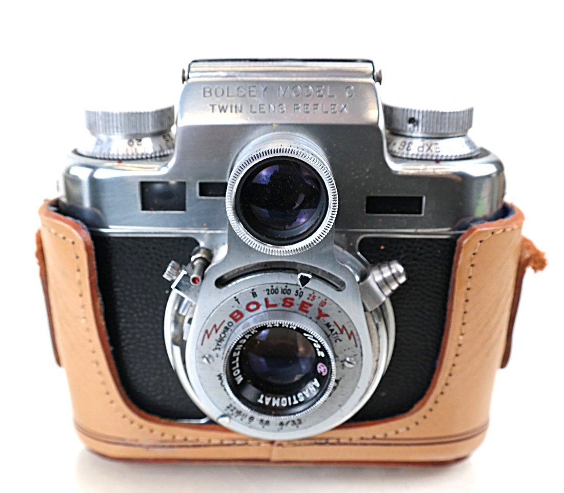 Bolsey Twin Reflex Camera