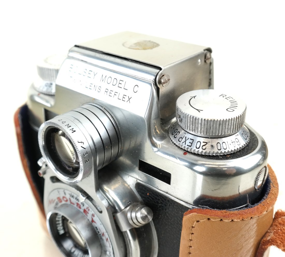 Bolsey Twin Reflex Camera - 4