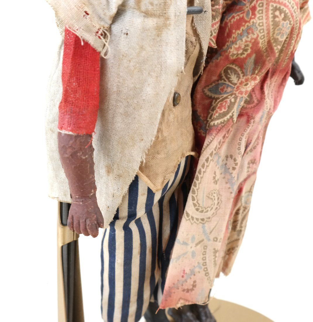 Pair of Folk Art Style Dolls - 7