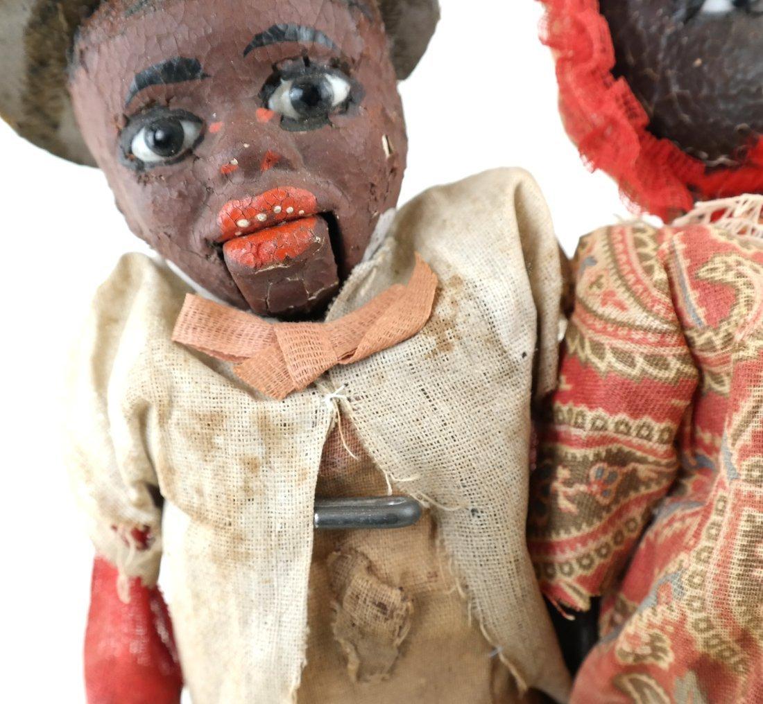 Pair of Folk Art Style Dolls - 8
