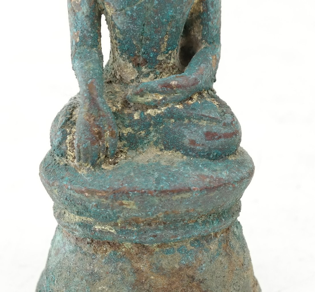 Antique Bronze Buddha - 4