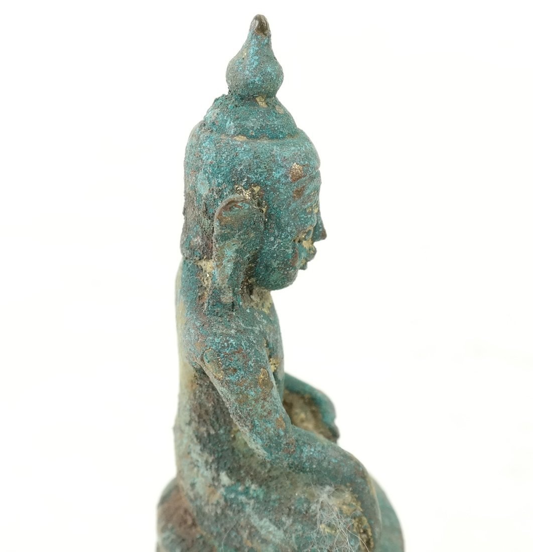 Antique Bronze Buddha - 6