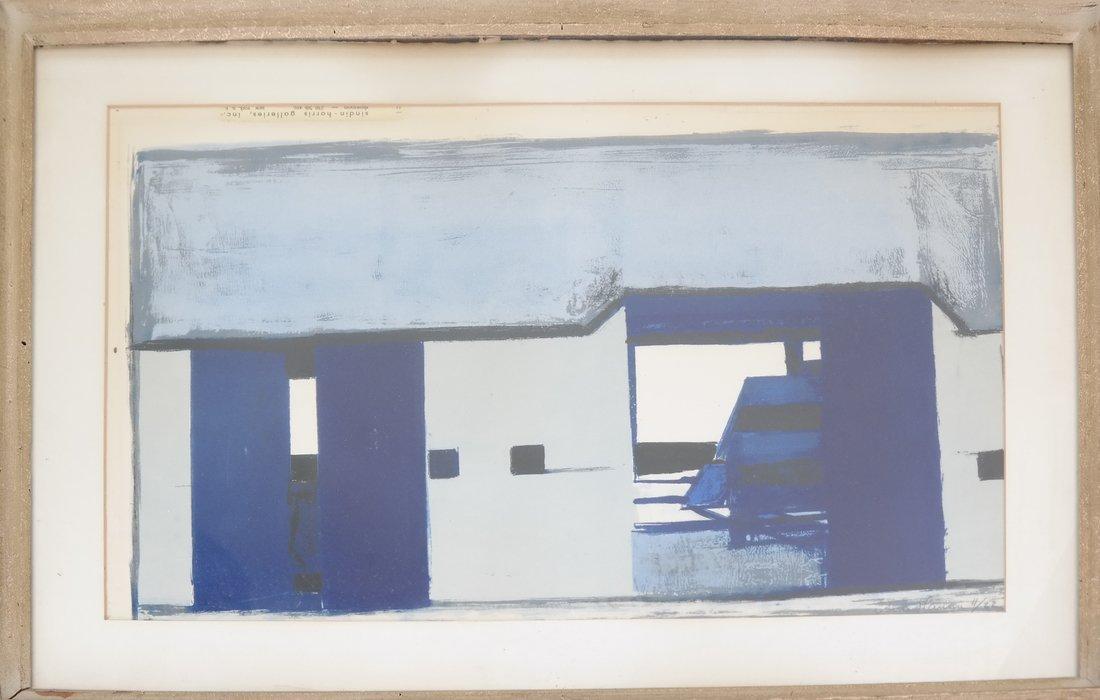 "Arne Hansen ""Blue Farm"" Print - 2"