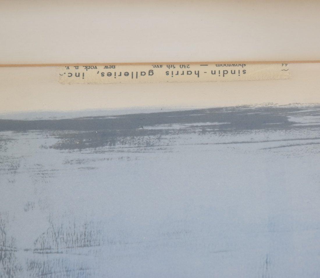 "Arne Hansen ""Blue Farm"" Print - 4"