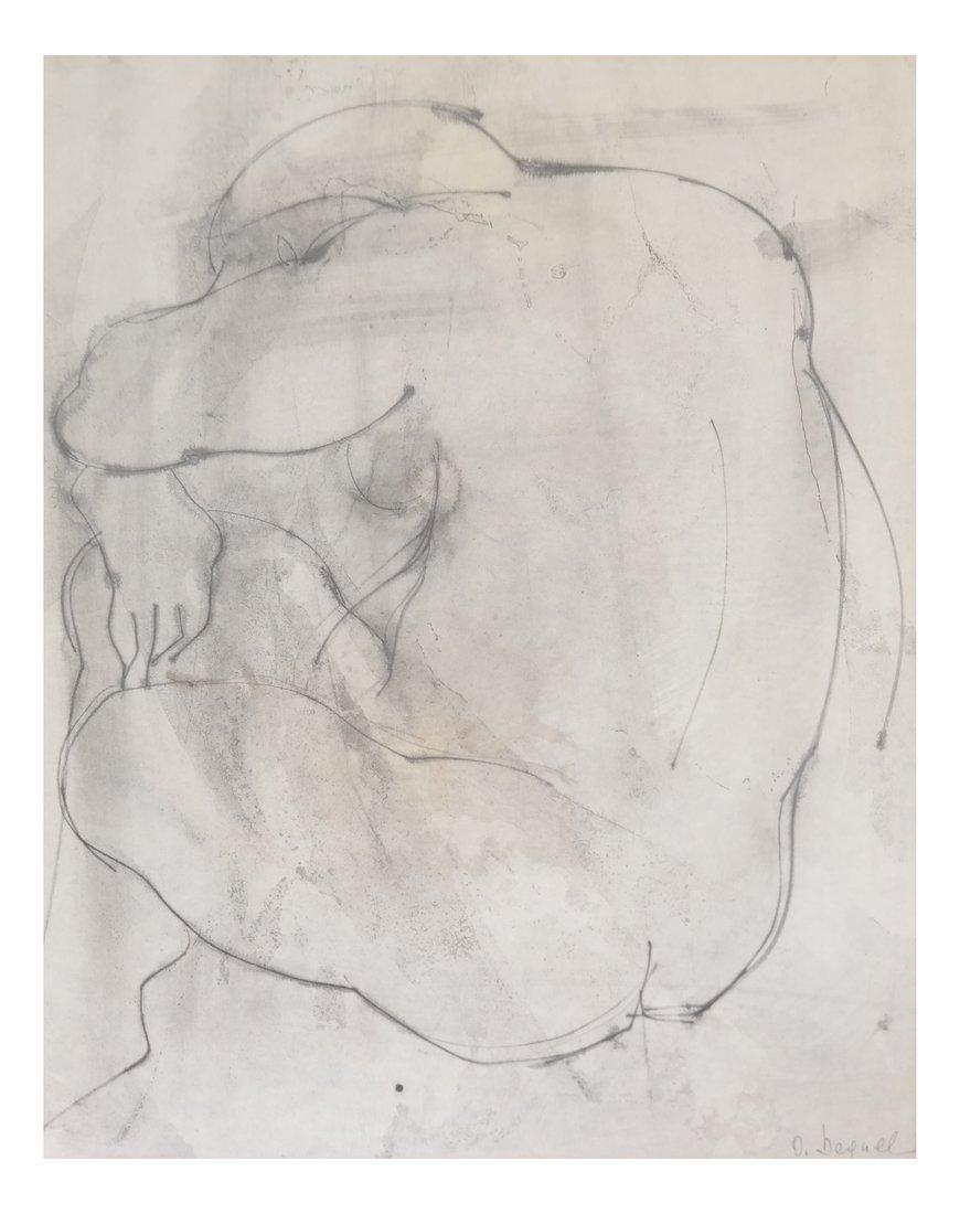 Nude Torso, Print