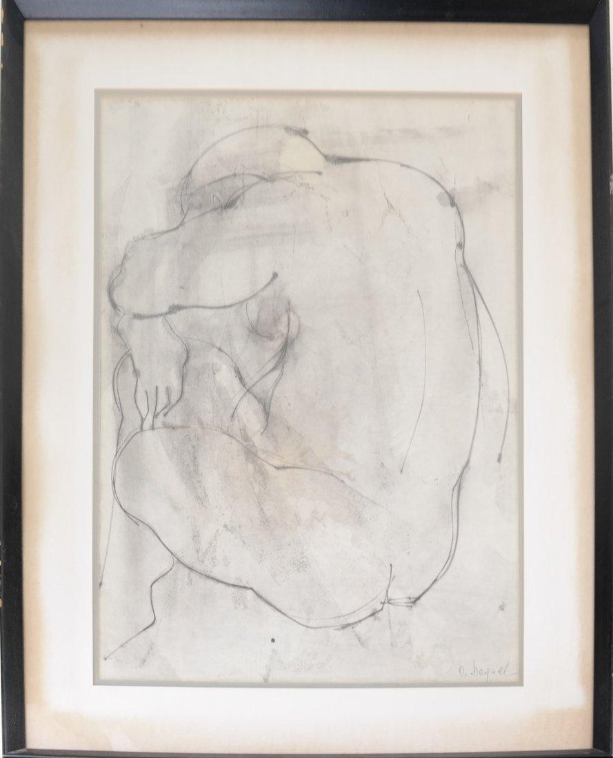 Nude Torso, Print - 2