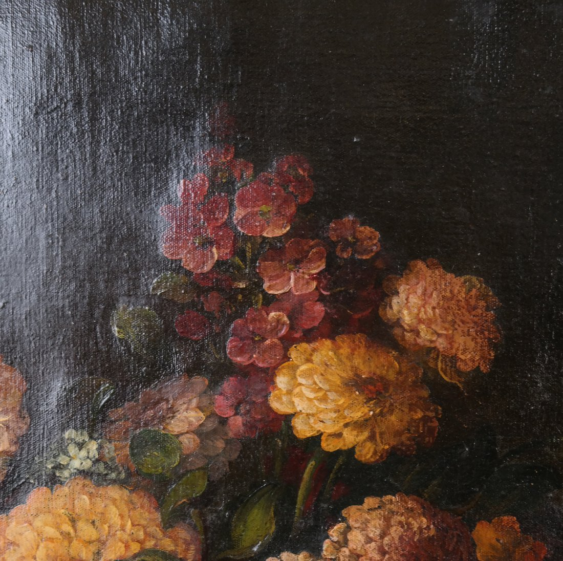 19th Cent. Floral Still Life, Oil/Canvas - 5