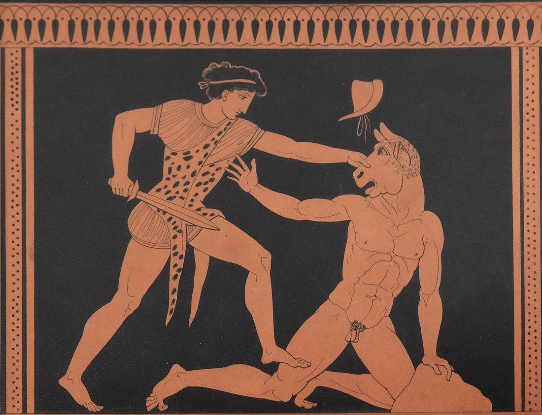 Four Grecian-Style Prints - 2