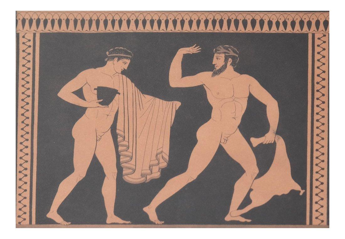 Four Grecian-Style Prints - 4