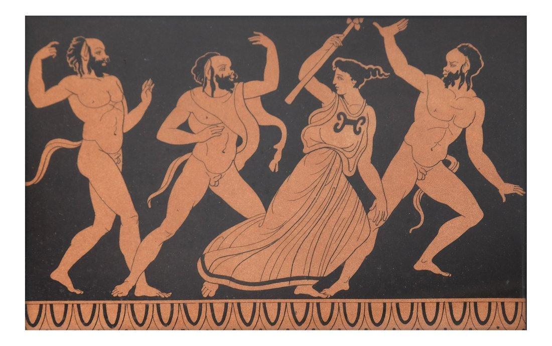 Four Grecian-Style Prints - 5
