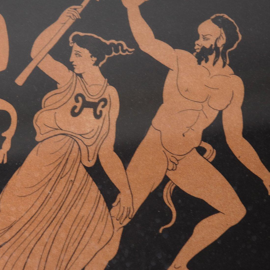 Four Grecian-Style Prints - 6