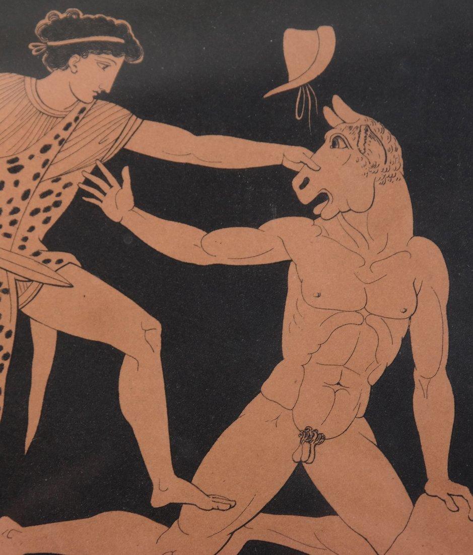 Four Grecian-Style Prints - 7