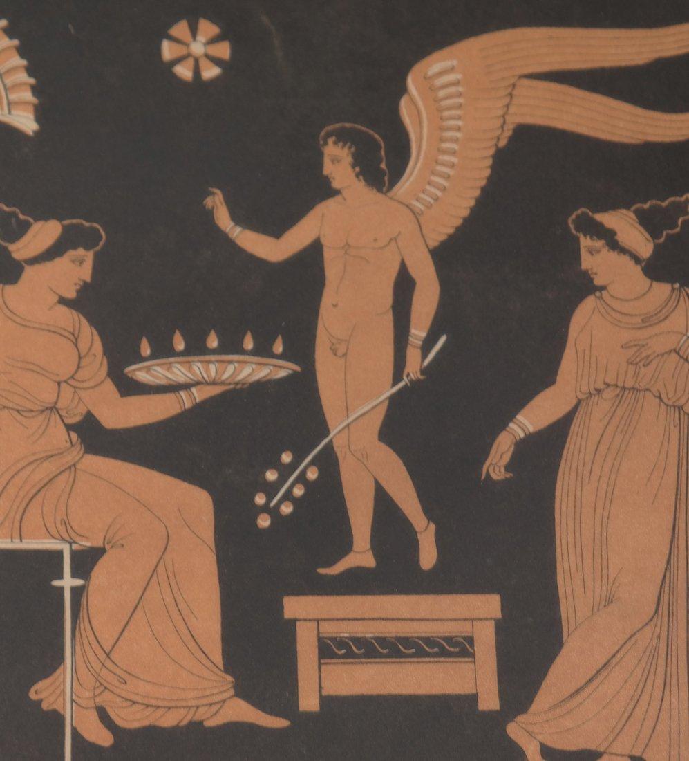Four Grecian-Style Prints - 8
