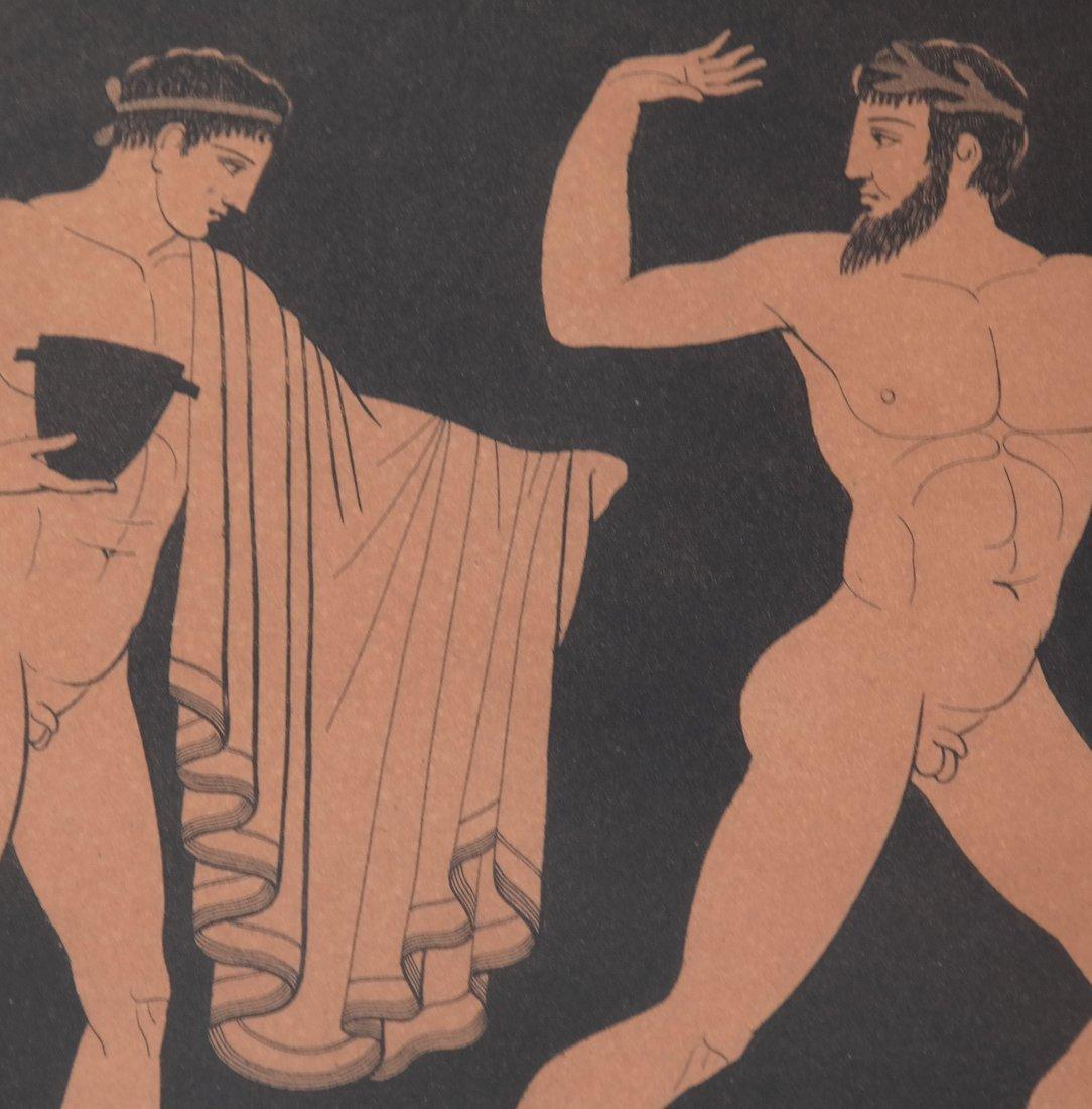 Four Grecian-Style Prints - 9