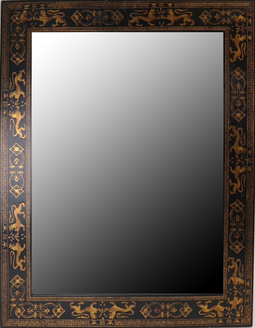 English Embossed Mirror