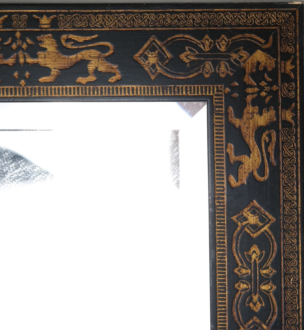 English Embossed Mirror - 2