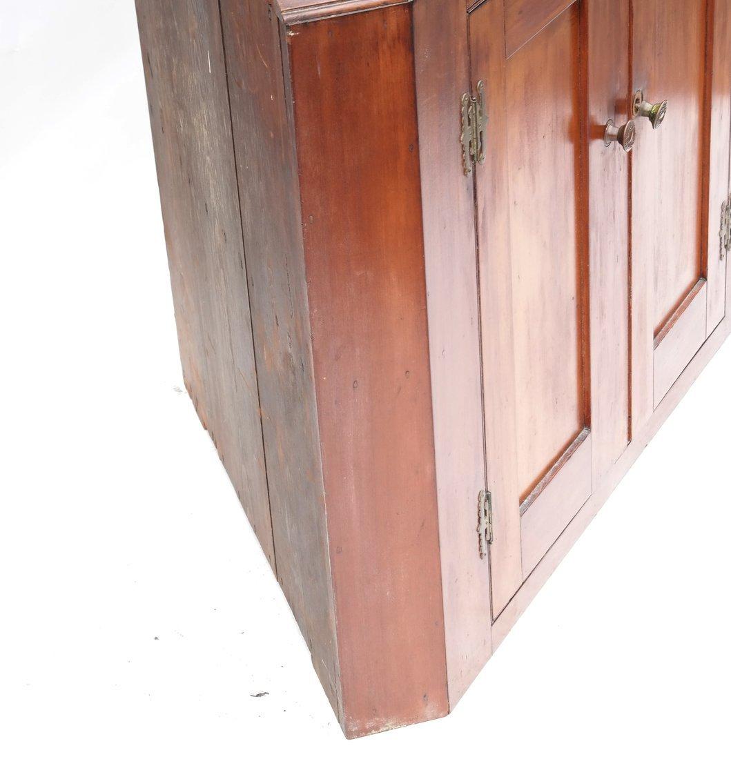 American Pine Corner Cabinet - 5