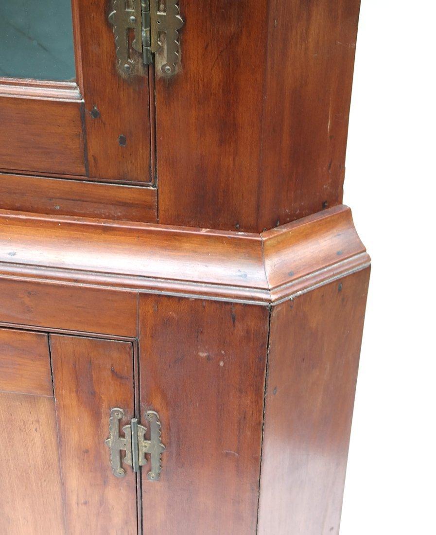 American Pine Corner Cabinet - 6