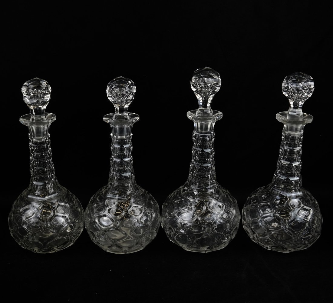 Ten British Glass Table Articles - 2