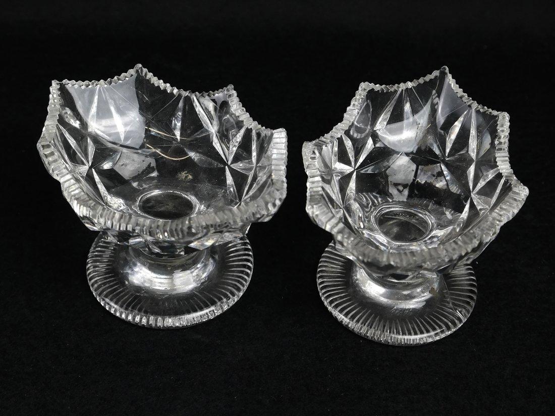 Six Irish Cut Glass Table Articles - 6