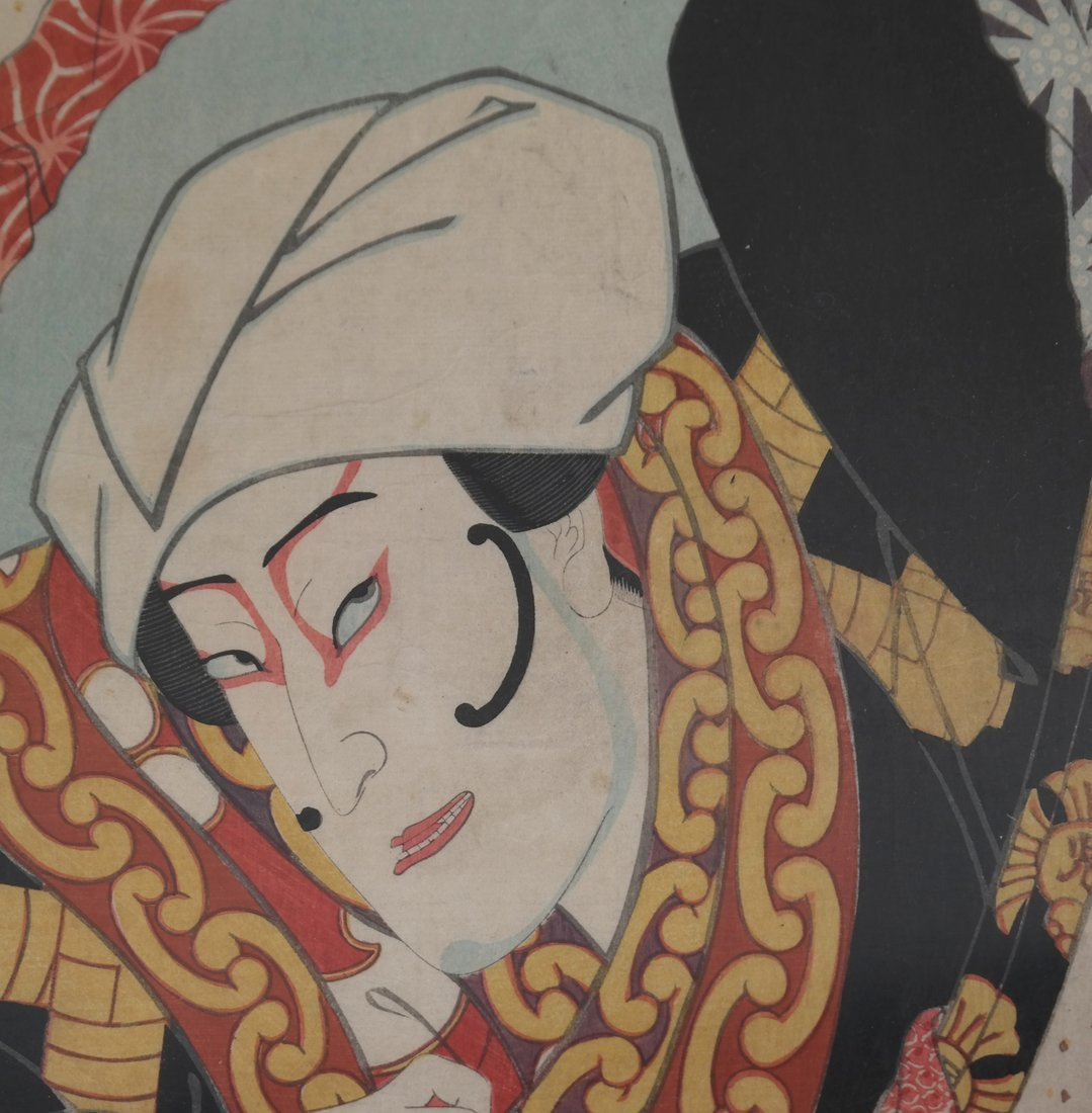 Kunisada Japanese Woodblock Prints - 4