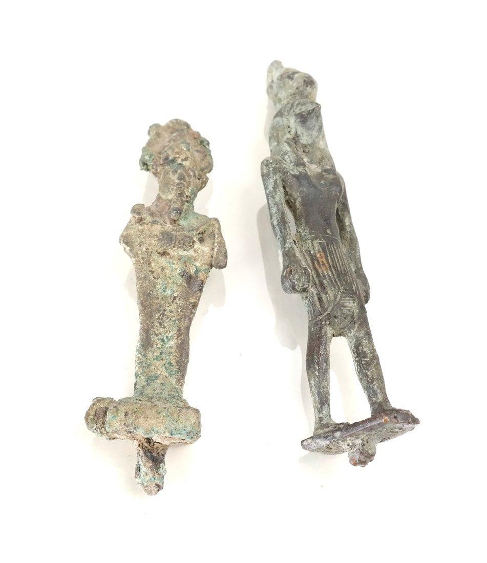 Egyptian Bronze Figures