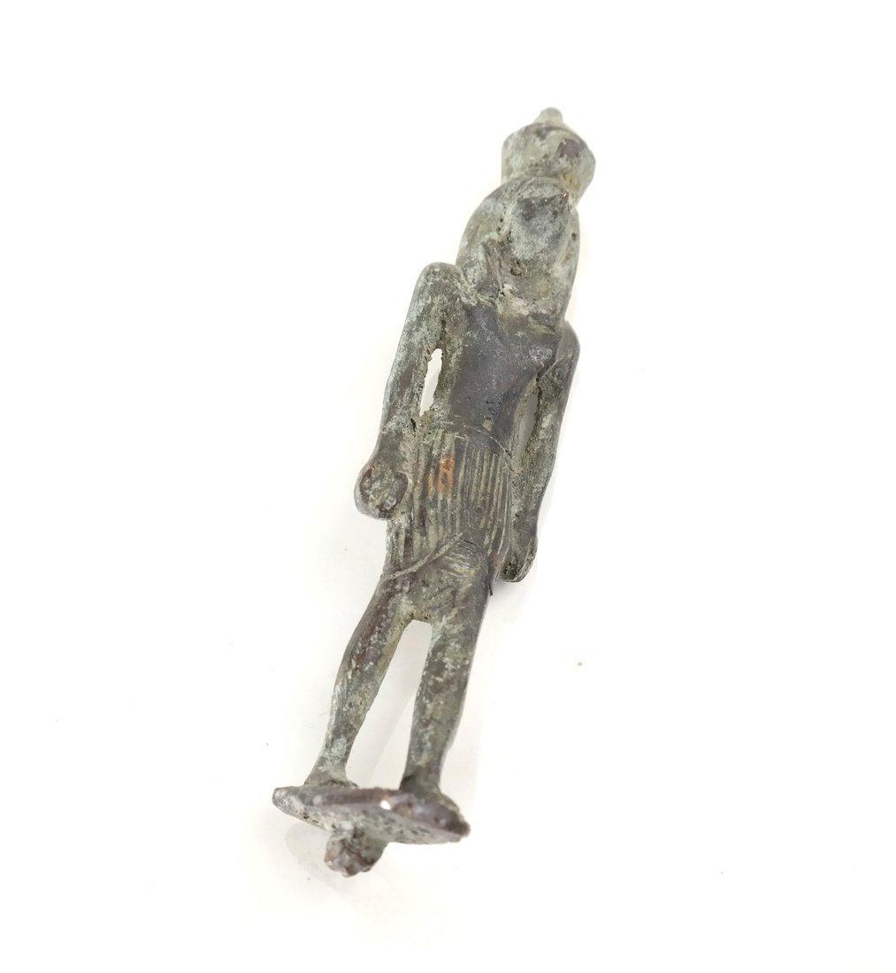 Egyptian Bronze Figures - 3