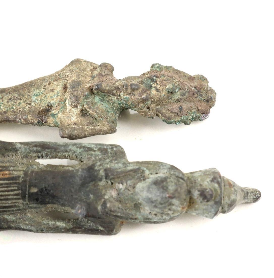 Egyptian Bronze Figures - 7