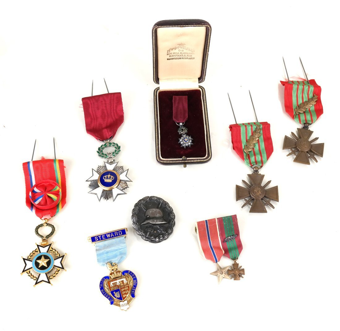 Collection of World War Medals