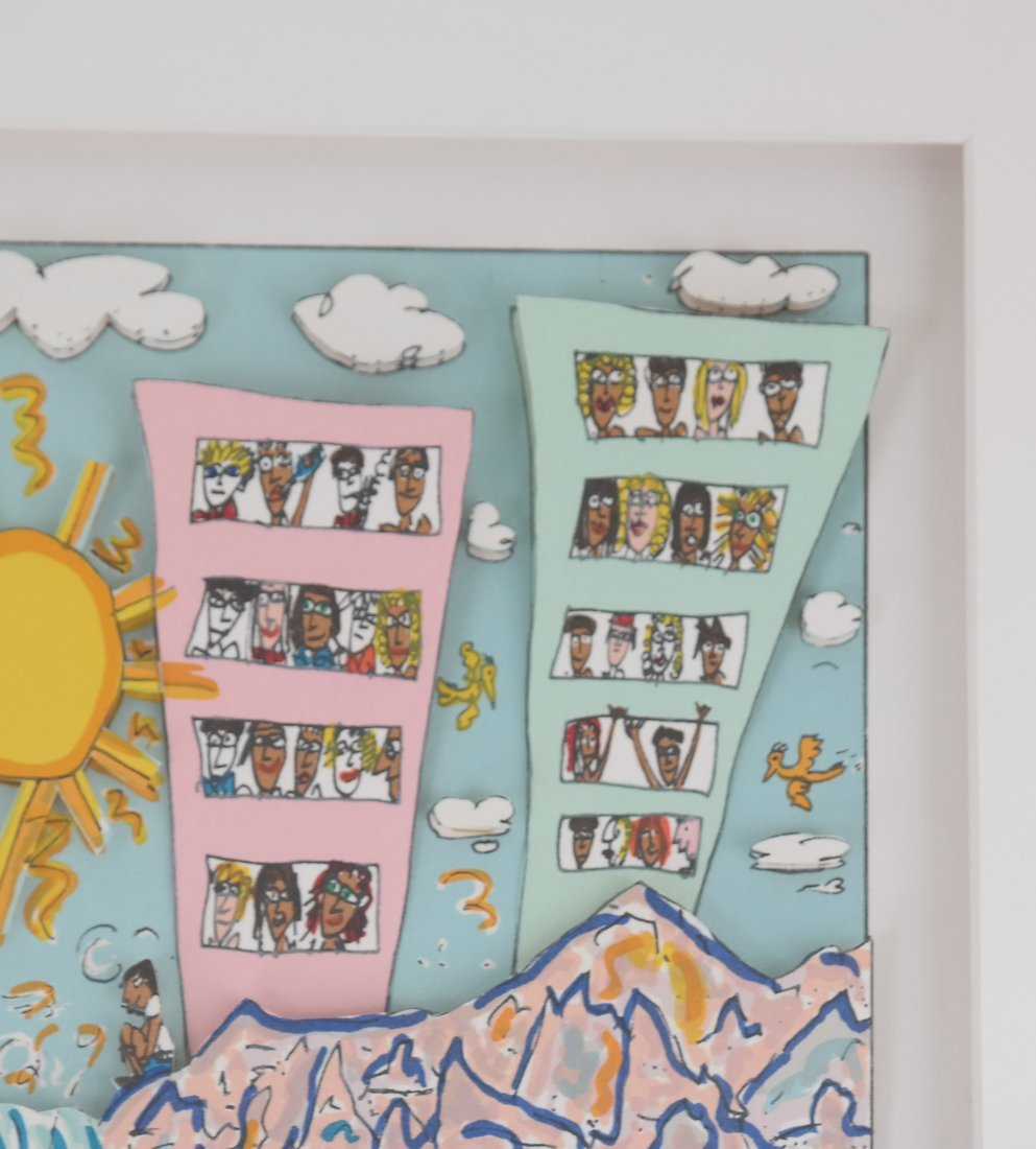James Rizzi, 3-D Collage - 6