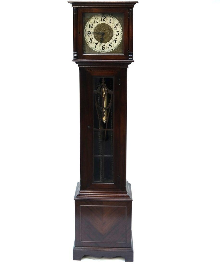 Mahogany Case Grandfather Clock