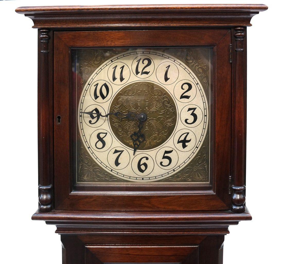 Mahogany Case Grandfather Clock - 2