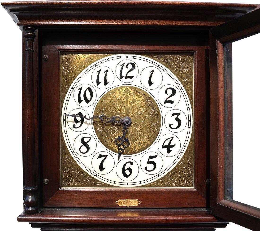 Mahogany Case Grandfather Clock - 5