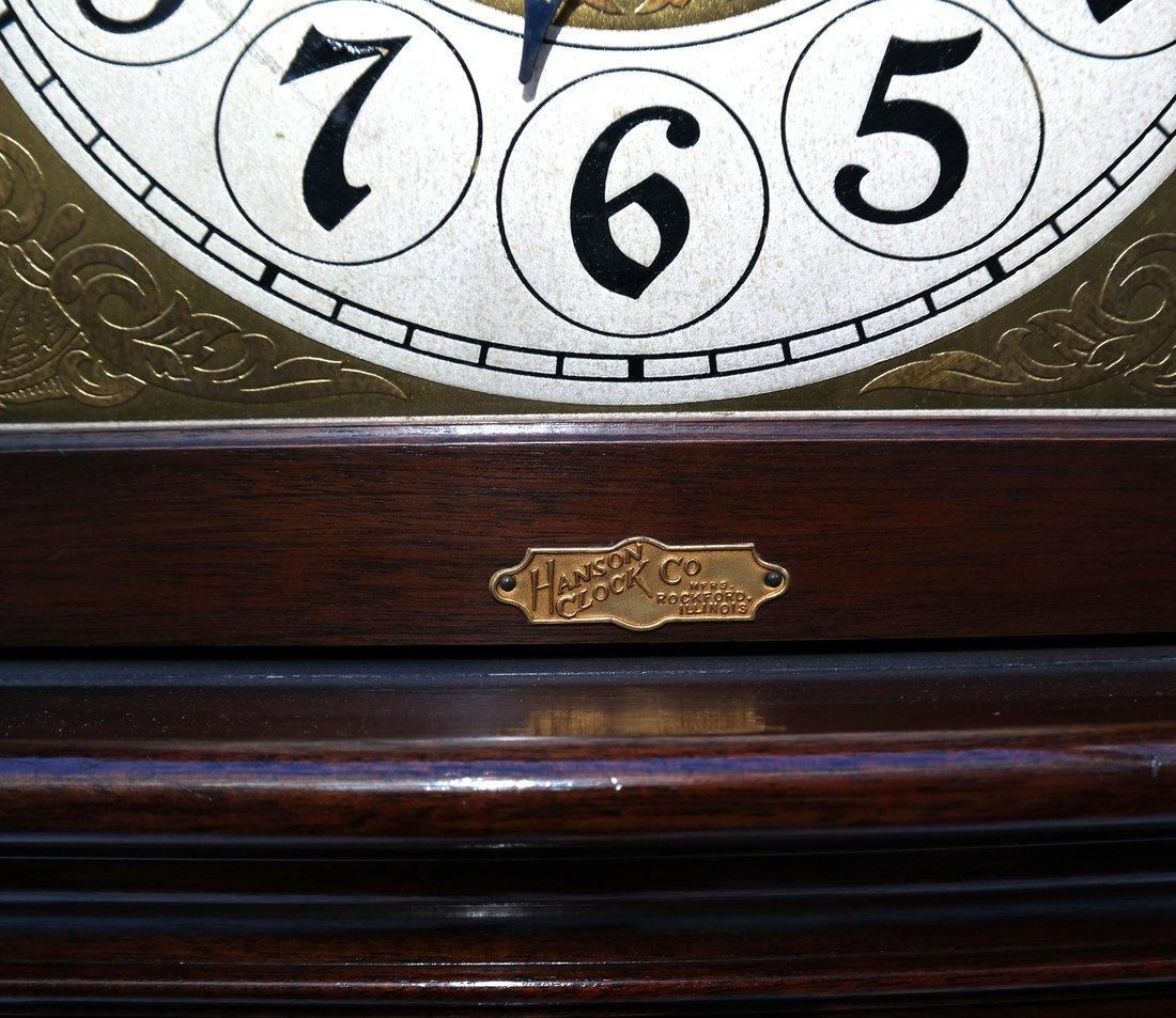 Mahogany Case Grandfather Clock - 6
