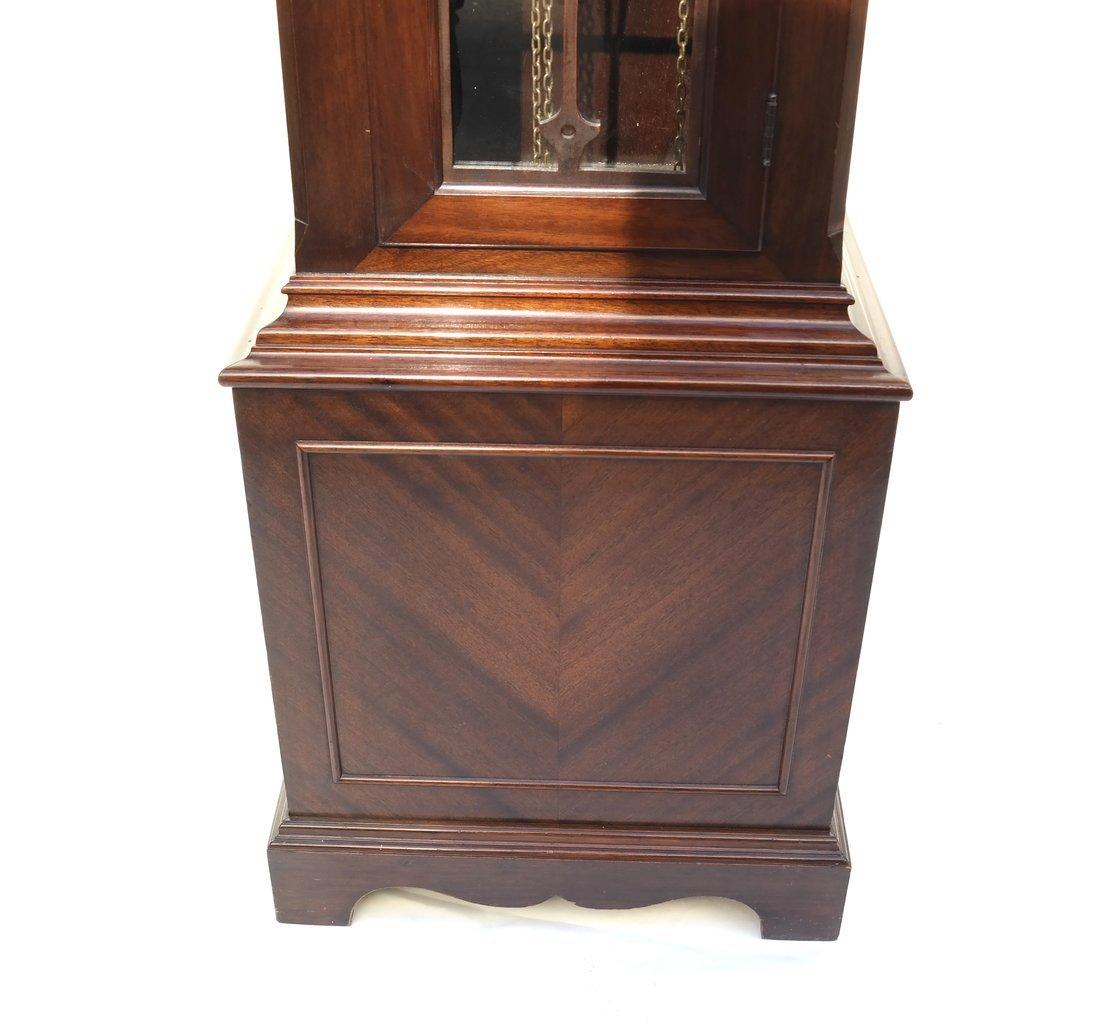 Mahogany Case Grandfather Clock - 8