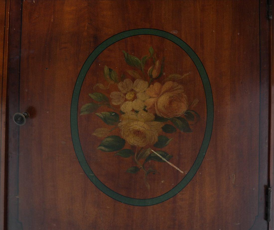 Louis XVI-Style Demilune Cabinet - 3