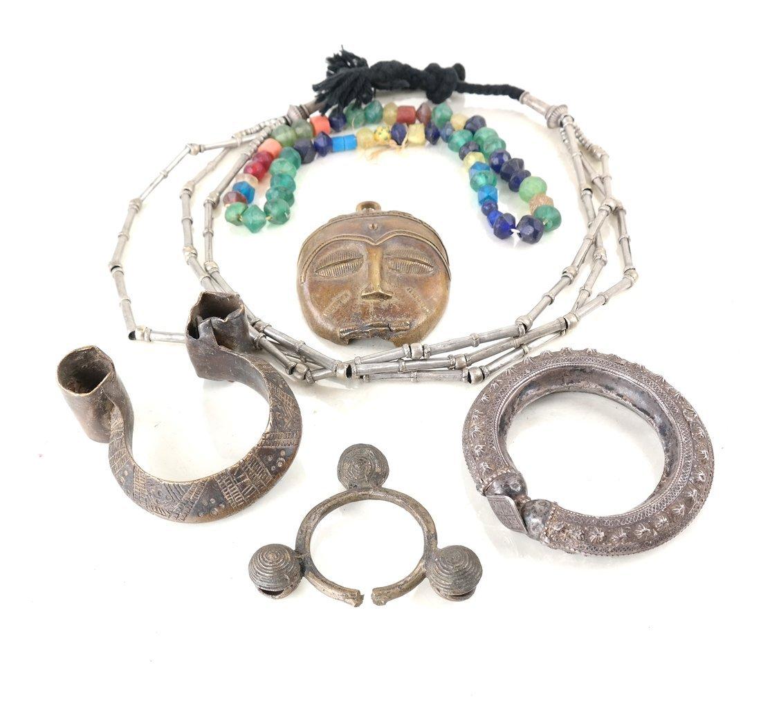 Group African Tribal Artifact Bracelets