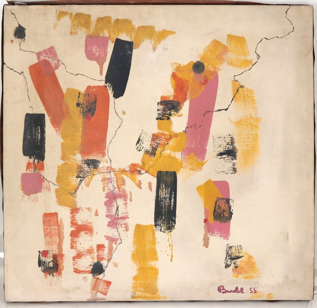 1950's Abstract Painting - 2