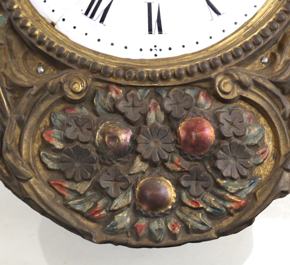 French Wall Clock - 4