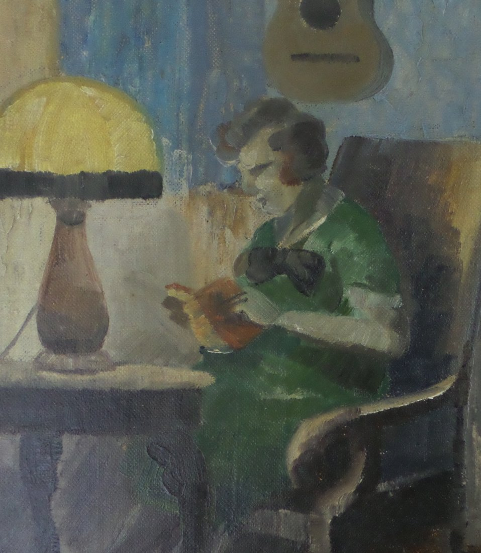Harald Engman - Woman Reading - 4