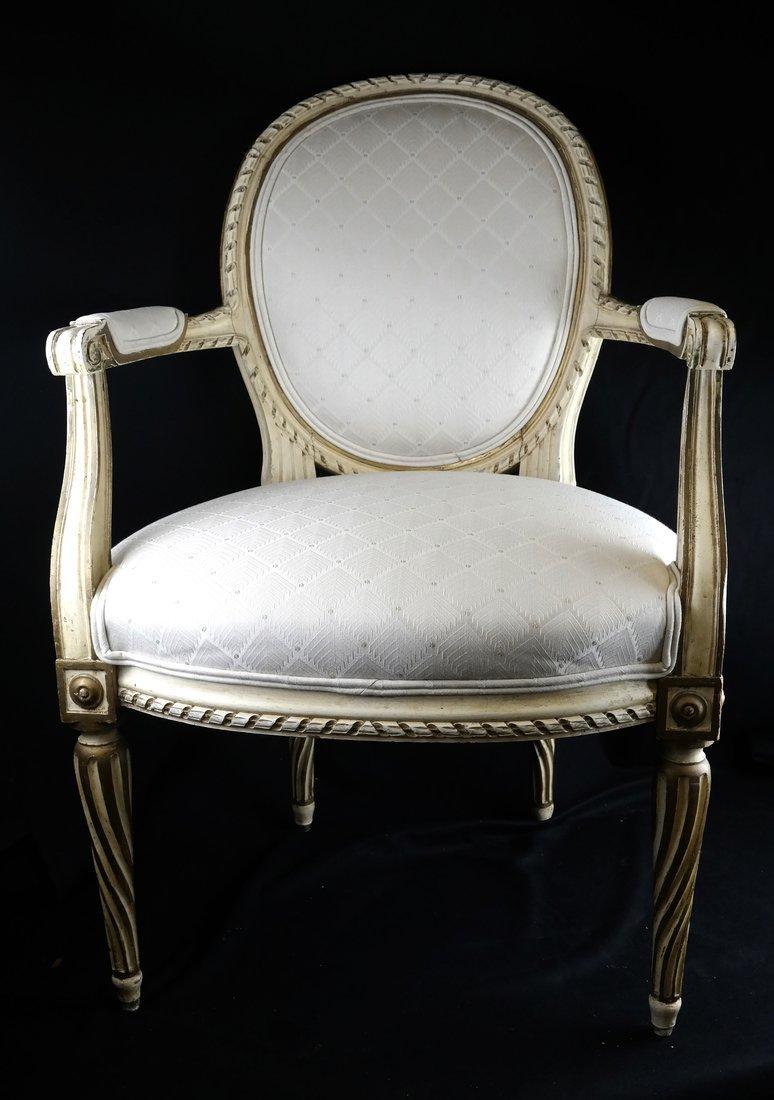 Louis XVI-Style Armchair - 2