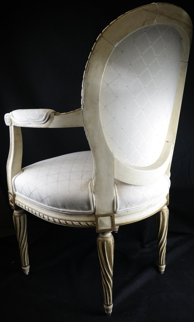 Louis XVI-Style Armchair - 7