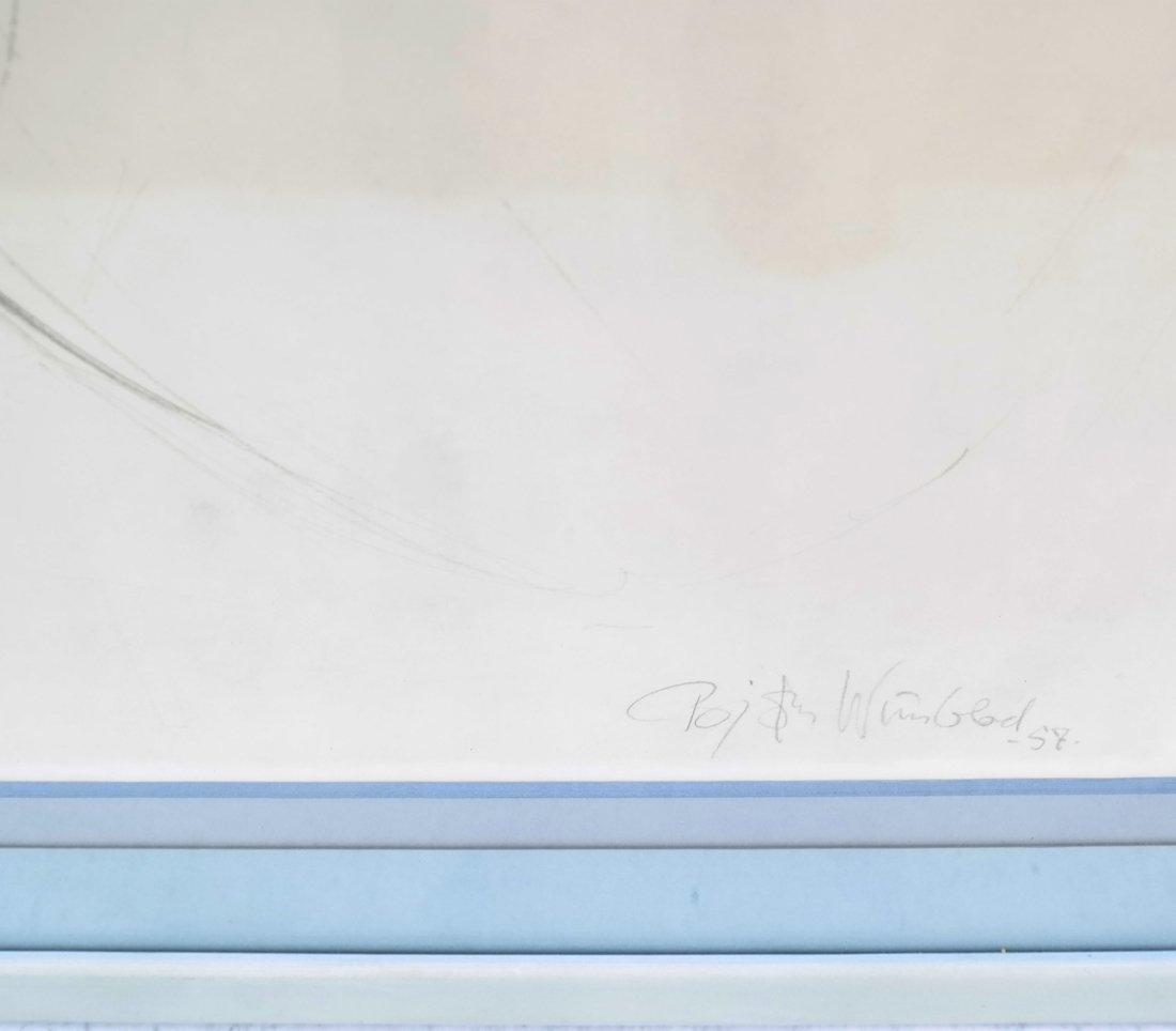 Bjorn Wiinblad Portrait of a Girl - 3