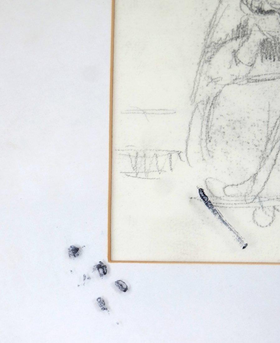 Kate Greenaway, Seated Woman, Drawing - 5