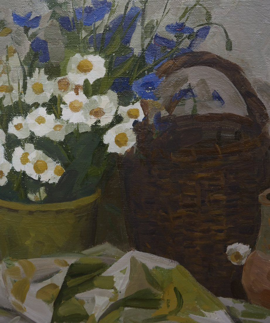Still Life, Oil On Canvas - 4
