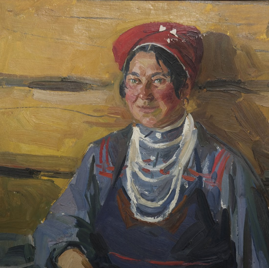 Modern Portrait of a Lady, Oil on Canvas - 3