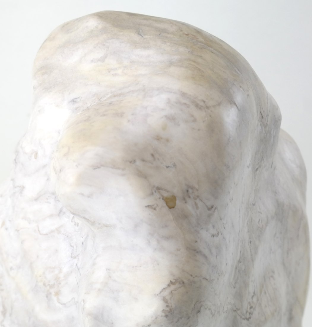 Ciuca, Alabaster Head Sculpture - 3