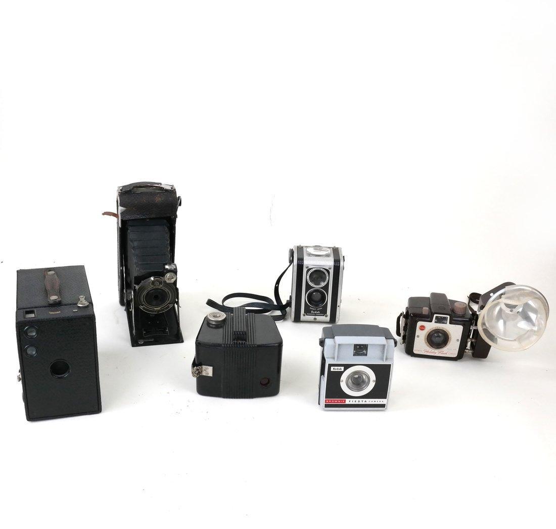 Assorted Kodak Cameras