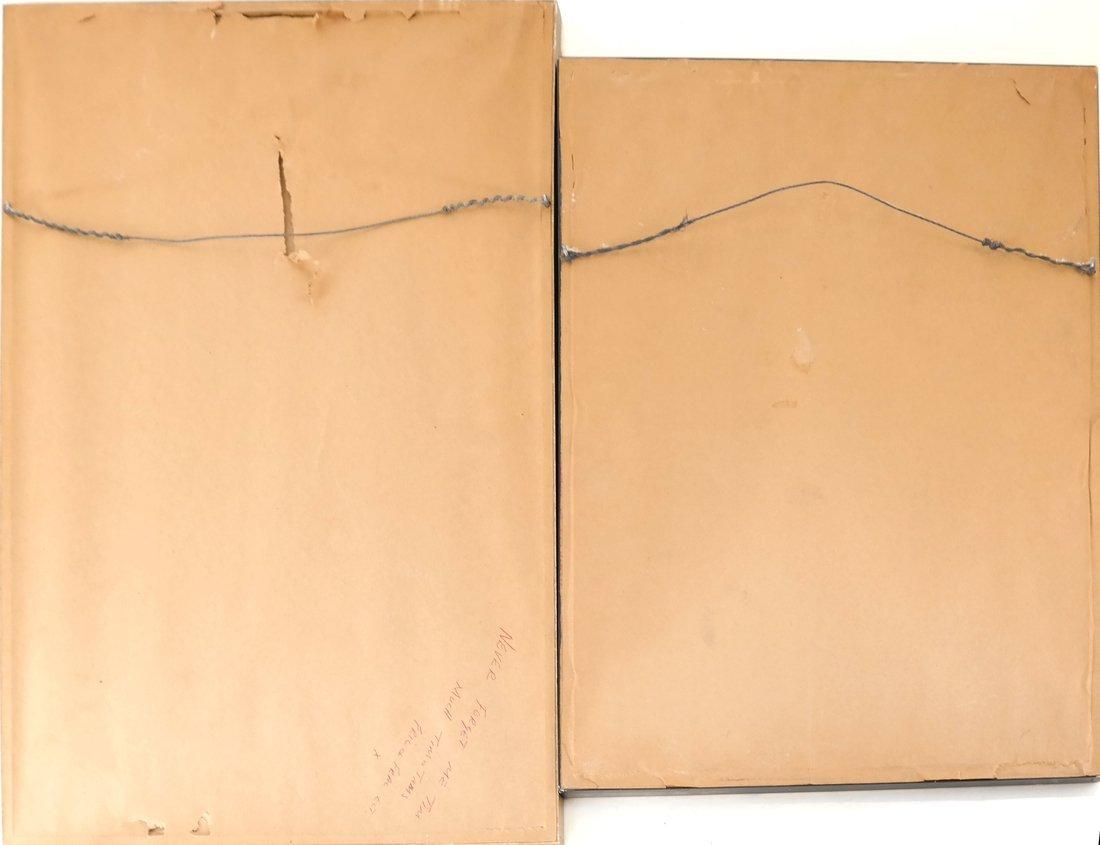 Two Prints: Portrait, Nude - 10