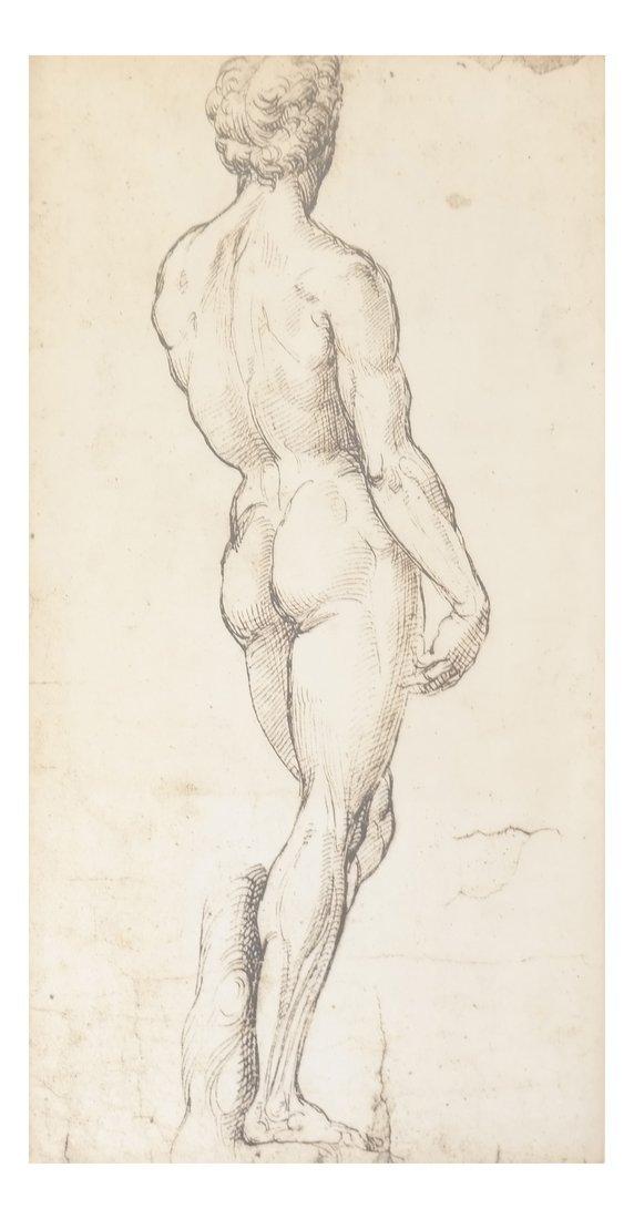 Two Prints: Portrait, Nude - 2
